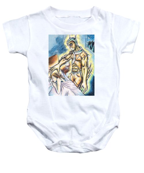 A Fishy Being From Beyond Baby Onesie