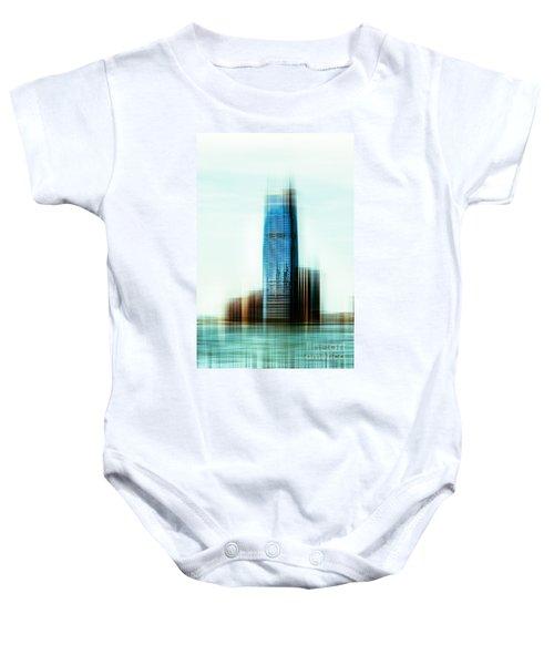 A Look To New Jersey II - Steel Baby Onesie