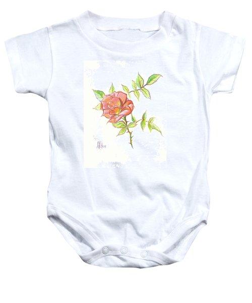 A Rose In Brigadoon Baby Onesie