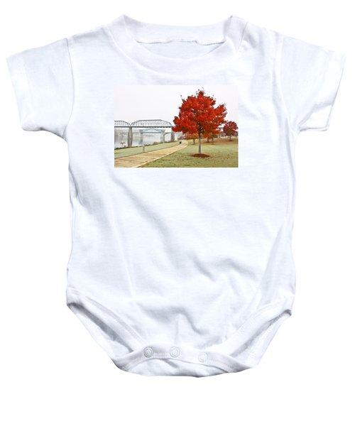 A Soft Autumn Day Baby Onesie