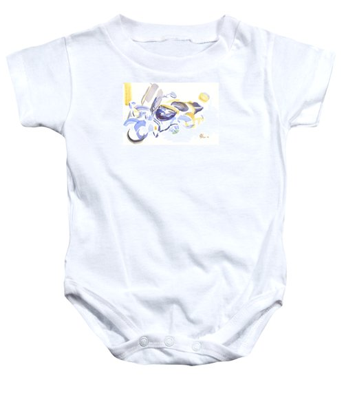 Abstract Motorcycle Baby Onesie