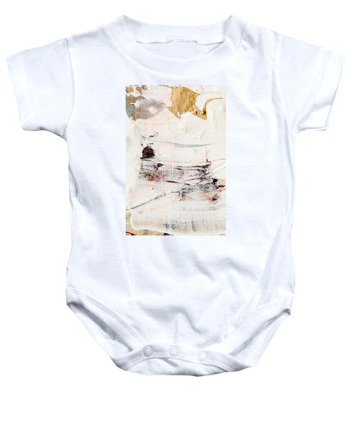 Abstract Original Painting Number Eleven Baby Onesie