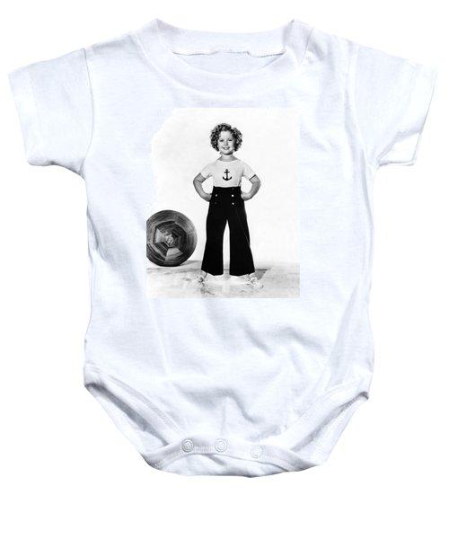 Actress Shirley Temple Baby Onesie