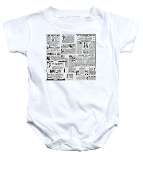 Advert - Edwardian Mens Health Baby Onesie