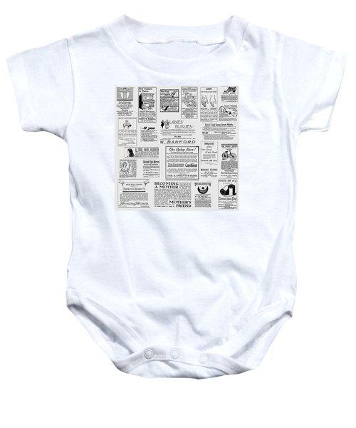 Advert - For The Ladies Baby Onesie