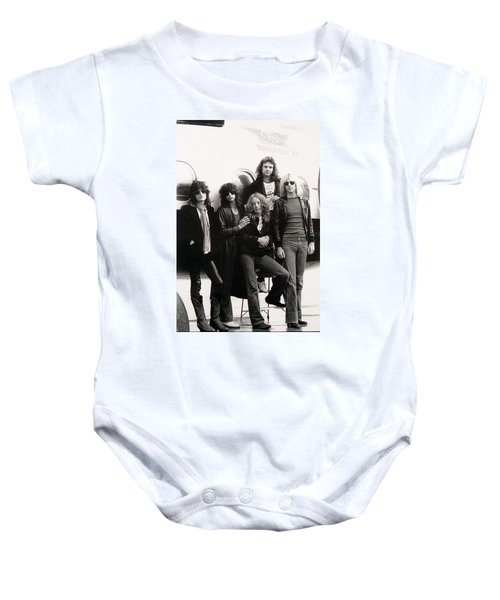 Aerosmith - Eurofest Jet 1977 Baby Onesie by Epic Rights