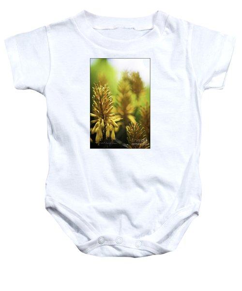 Aloe 'kujo' Plant Baby Onesie