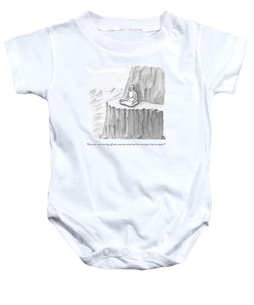 An Old Man Gives Metaphysical Advice Baby Onesie