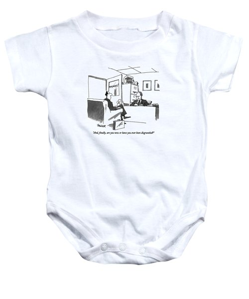 And, Finally, Are You Now Or Baby Onesie