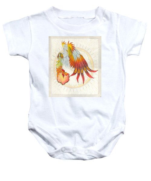 Angel Phoenix Baby Onesie