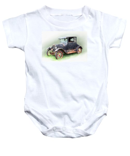 Antique Car Baby Onesie