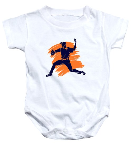 Astros Shadow Player2 Baby Onesie