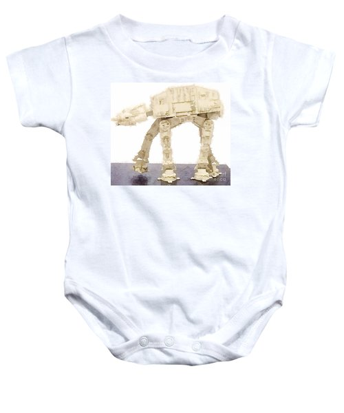 At-at All Terrain Armored Transport Baby Onesie