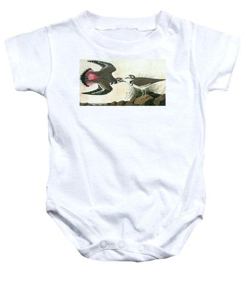 Audubon Killdeer Baby Onesie