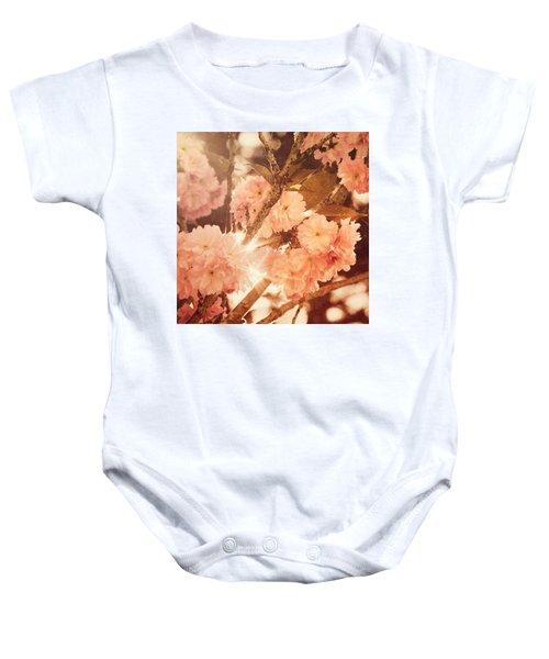 Baroque Spring Baby Onesie