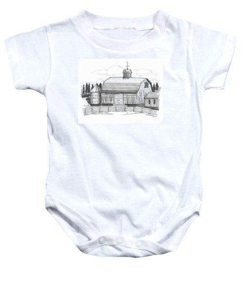 Barrytown Barn Baby Onesie