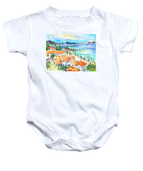 Bay Of Saint Martin Baby Onesie