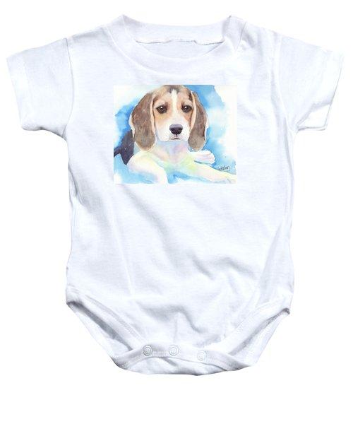 Beagle Baby Baby Onesie