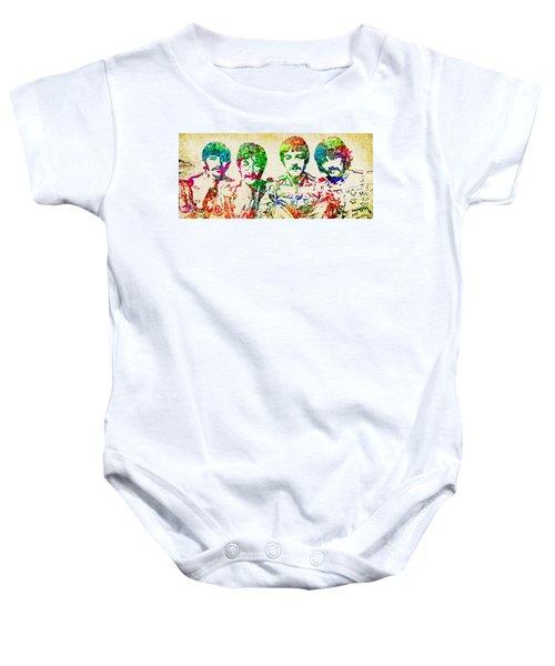 Beatles Sgt. Peppers  Baby Onesie