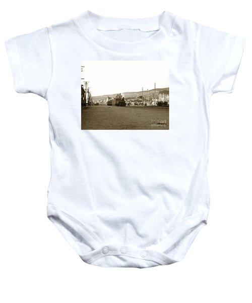 Berkeley California Train Station Circa 1902 Baby Onesie