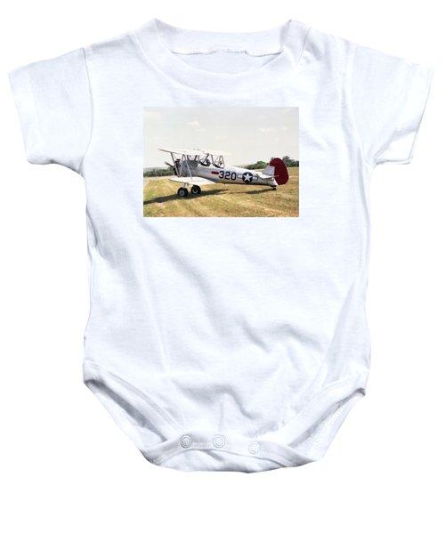 Boeing Stearman Baby Onesie
