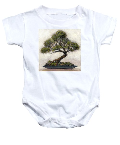 Bonsai Cedar Baby Onesie
