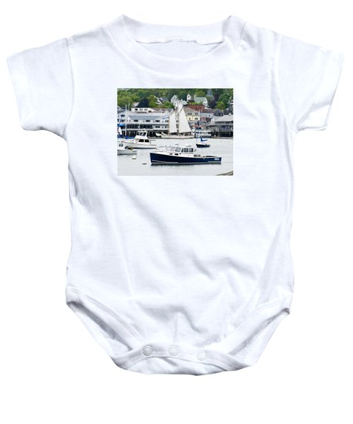 Boothbay Harbor Baby Onesie