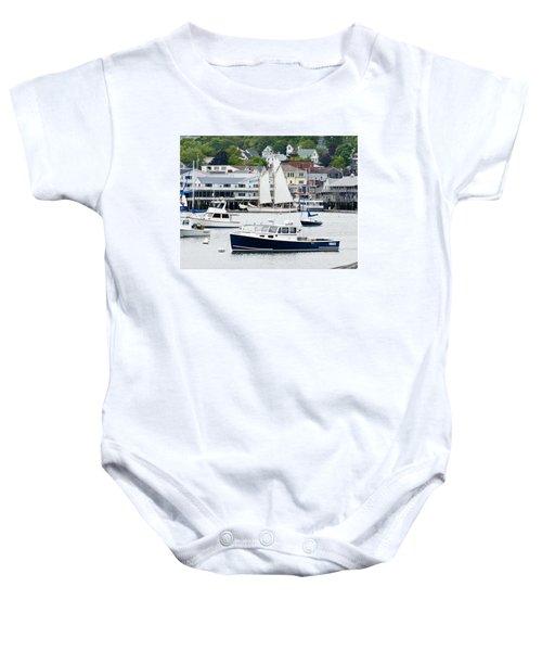 Boothbay Harbor Baby Onesie