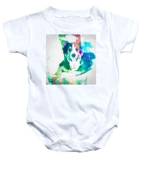 Border Collie - Wc Baby Onesie