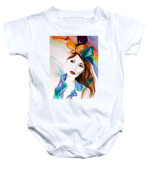 Born To Fly Baby Onesie