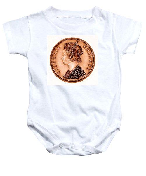 Bronze Empress Victoria Baby Onesie