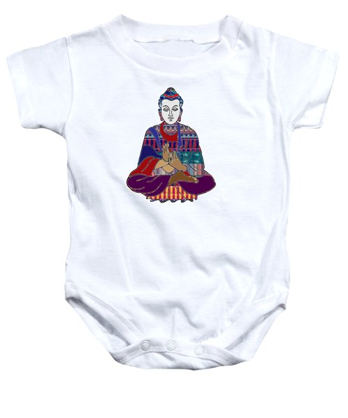 Buddha In Meditation Buddhism Master Teacher Spiritual Guru By Navinjoshi At Fineartamerica.com Baby Onesie by Navin Joshi