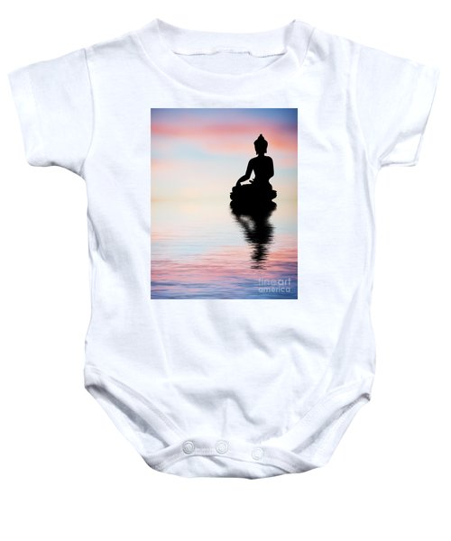 Buddha Reflection Baby Onesie