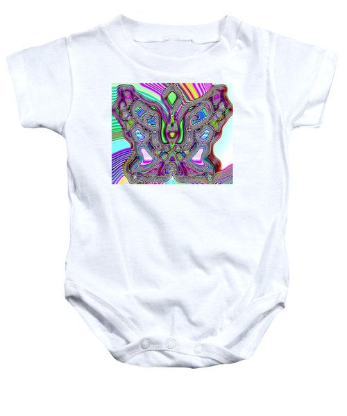 Butterfly Groove Baby Onesie
