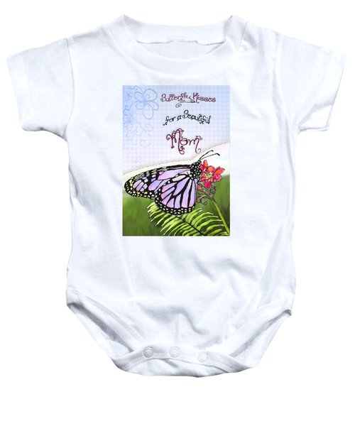 Butterfly Kisses Baby Onesie
