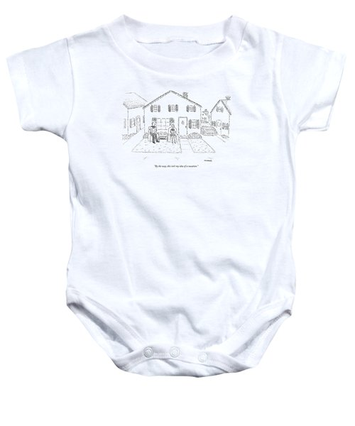 By The Way, This Isn't My Idea Of A Vacation Baby Onesie