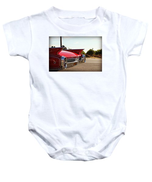Cadillac In Wine Country  Baby Onesie