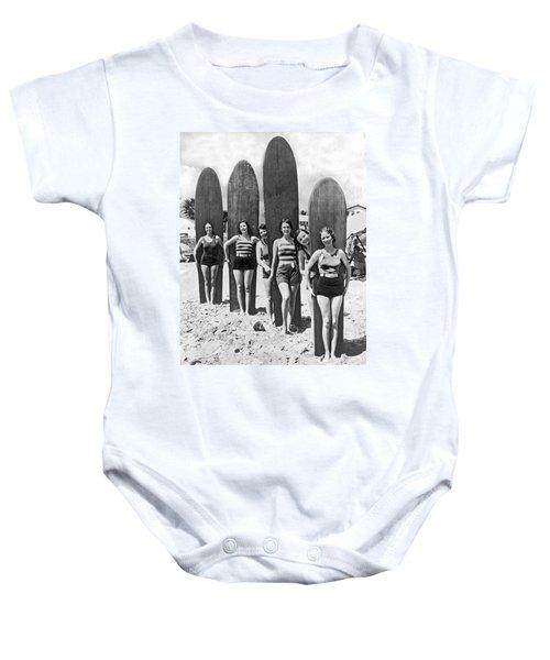 California Surfer Girls Baby Onesie