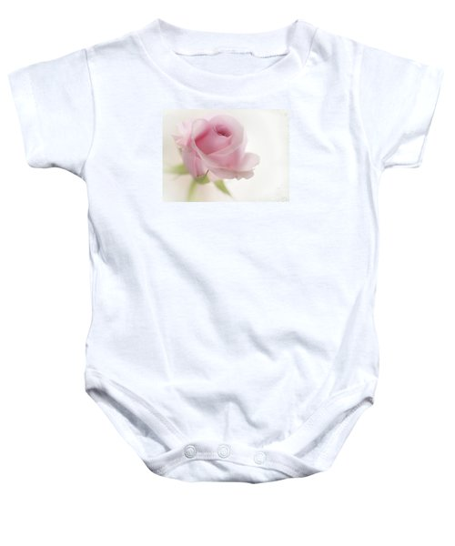 Baby Onesie featuring the mixed media Candy Floss by Morag Bates