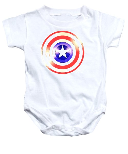 Cap Am Shield Baby Onesie