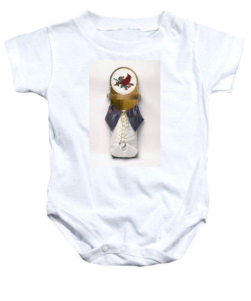 Cardinal Cradleboard Baby Onesie