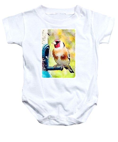 Carduelis Carduelis 'waterfinch' Baby Onesie