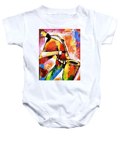 Celebrating Music Baby Onesie