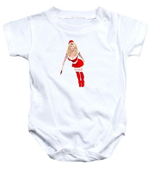 Christmas Elf Elise Baby Onesie