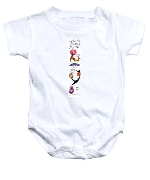 Christo's Upcoming Projects Baby Onesie by Steve Brodner