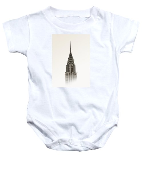Chrysler Building - Nyc Baby Onesie by Nicklas Gustafsson