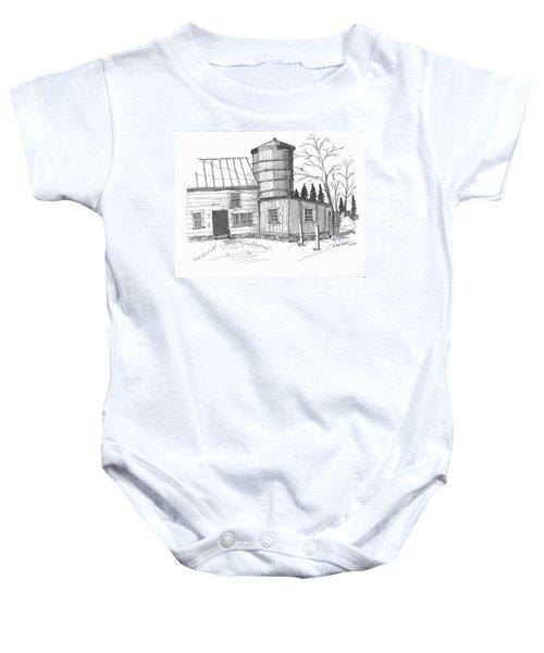 Clermont Barn 1 Baby Onesie
