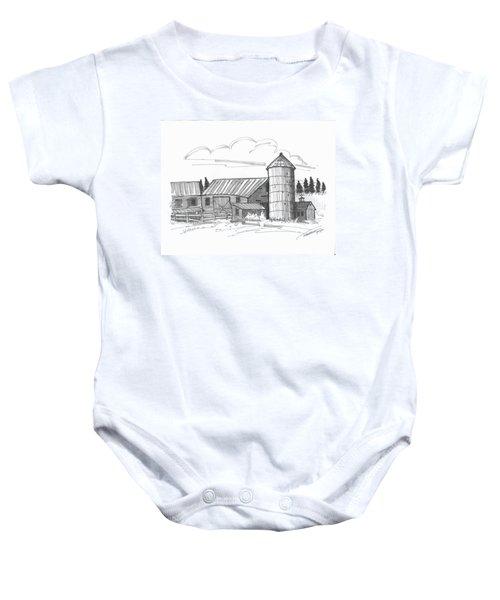 Clermont Barn 2 Baby Onesie