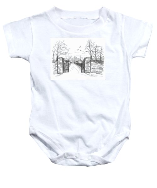 Clermont Farm Gate Baby Onesie