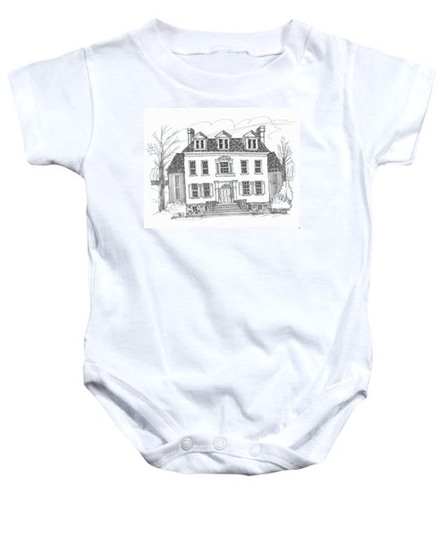 Clermont Historic Site Baby Onesie